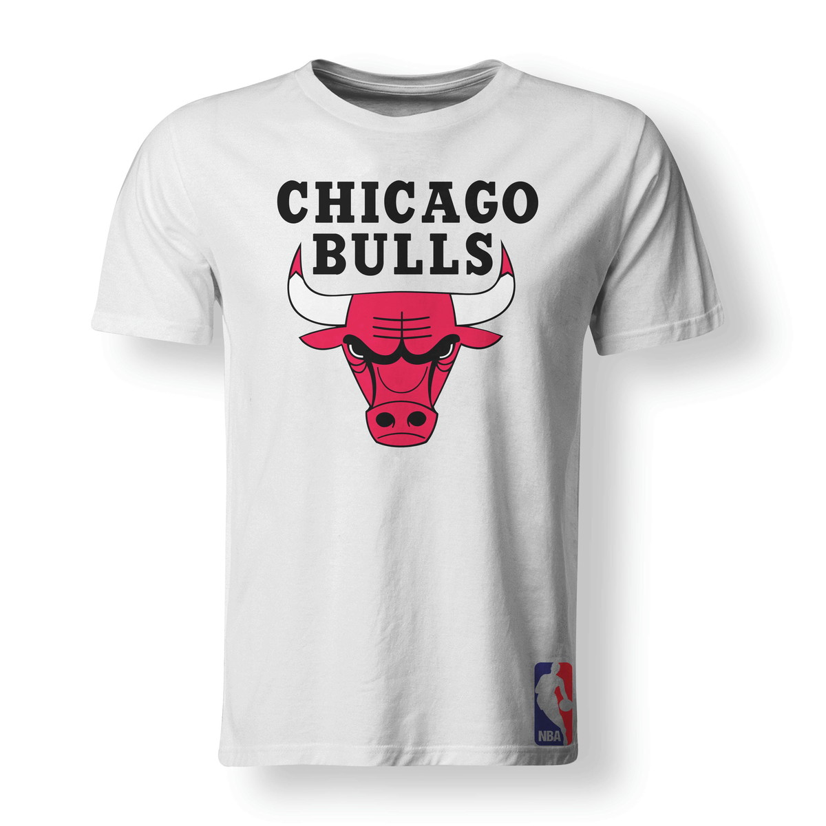Gorra Mitchell & Ness Chicago Bulls Team Negra/Roja