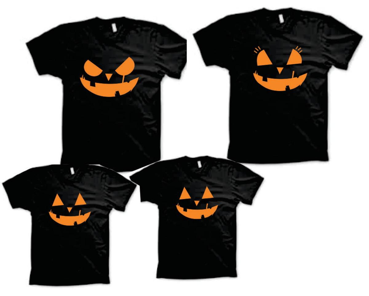 397fe7818a Camisetas para Halloween - 7 unidades no Elo7