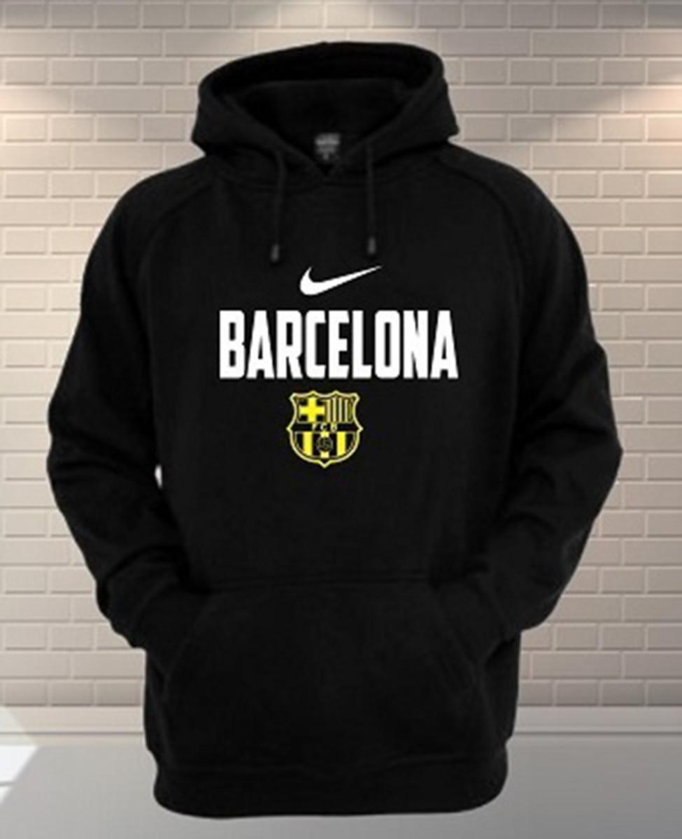 Blusa Moletom Soccer Barcelona Personalizada no Elo7  4db6d6a098d94