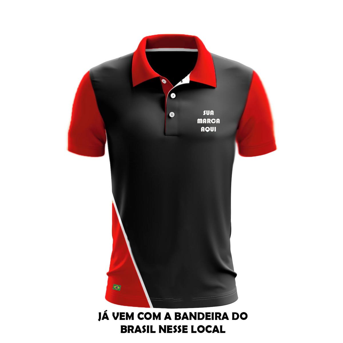 Camisa Camiseta pólo personalizada uniformes kit c  4 pçs no Elo7 ... 6d538835684da
