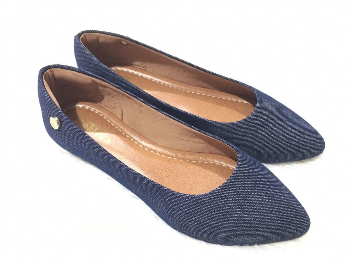 819c336e884 Sapatilha Feminina Jeans Básico Calçados Femininos Conforto no Elo7 ...