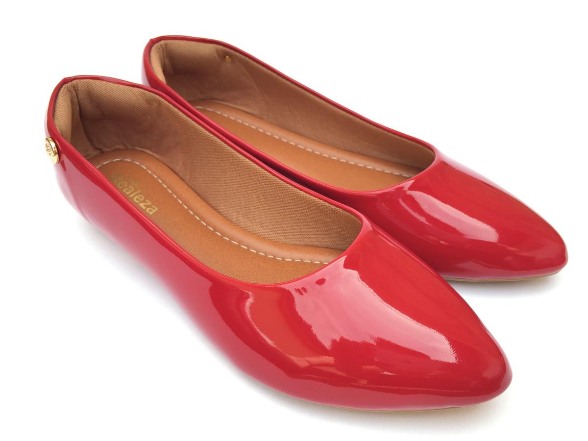 faef42c4ac6 Sapatilha Feminina Verniz Calçados Femininos no Elo7