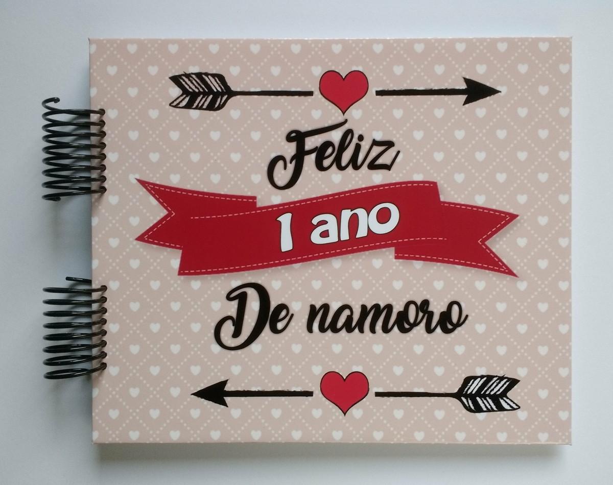 álbum Scrapbook Aniversário De Namoro 1 Ano 2 Anos Etc2 No Elo7