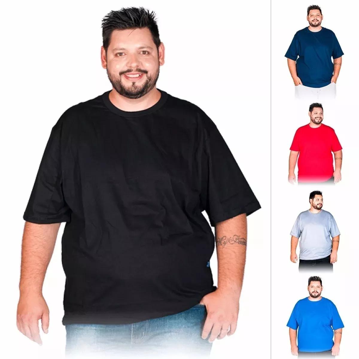 077a34fda Camiseta Plus Size Masculina Xg G1 G2 G3 Extra Grande Blusa no Elo7 ...