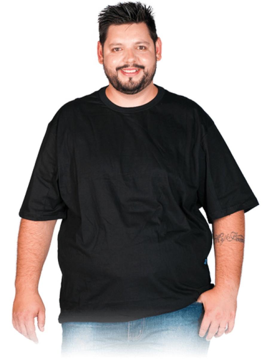 76de13b7db Camiseta Plus Size Xg G1 G2 G3 Extra Grande Blusa Preta no Elo7 ...