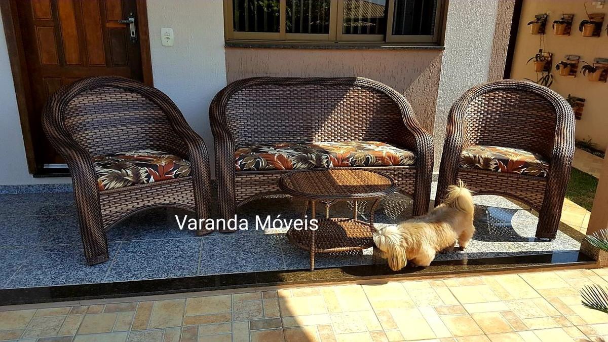 Sofa Para Varanda Jogo Area Externa Varanda Jardim Moveis No Elo7