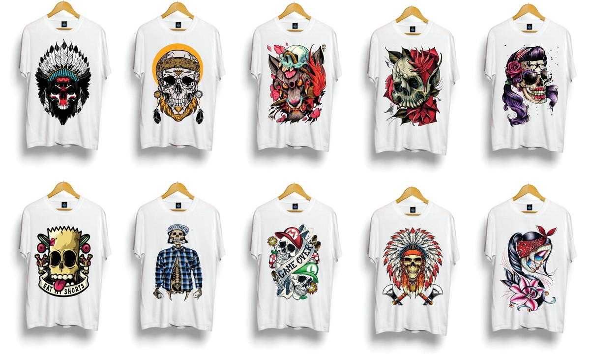 c148463da Kit com 10 camisetas masculinas para revender atacado no Elo7 ...