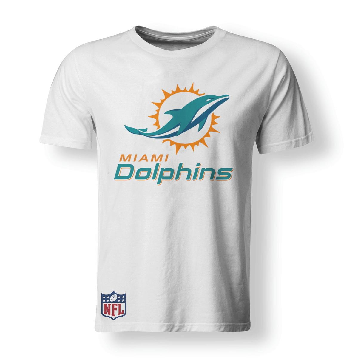b9f731e5147d0 Camiseta Miami Dolphins NFL - A3 no Elo7