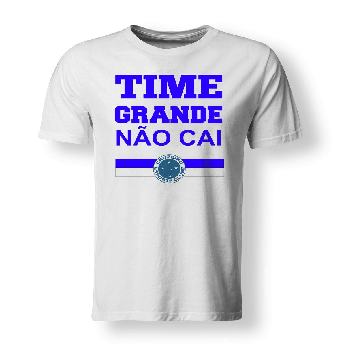 49828039e6 Camiseta Futebol Time Grande Não Cai Cruzeiro - A3 no Elo7