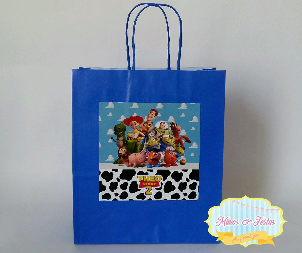 f5988f7ee Sacola Toy Story no Elo7 | Atelie Mimos & Festas (D27A4E)