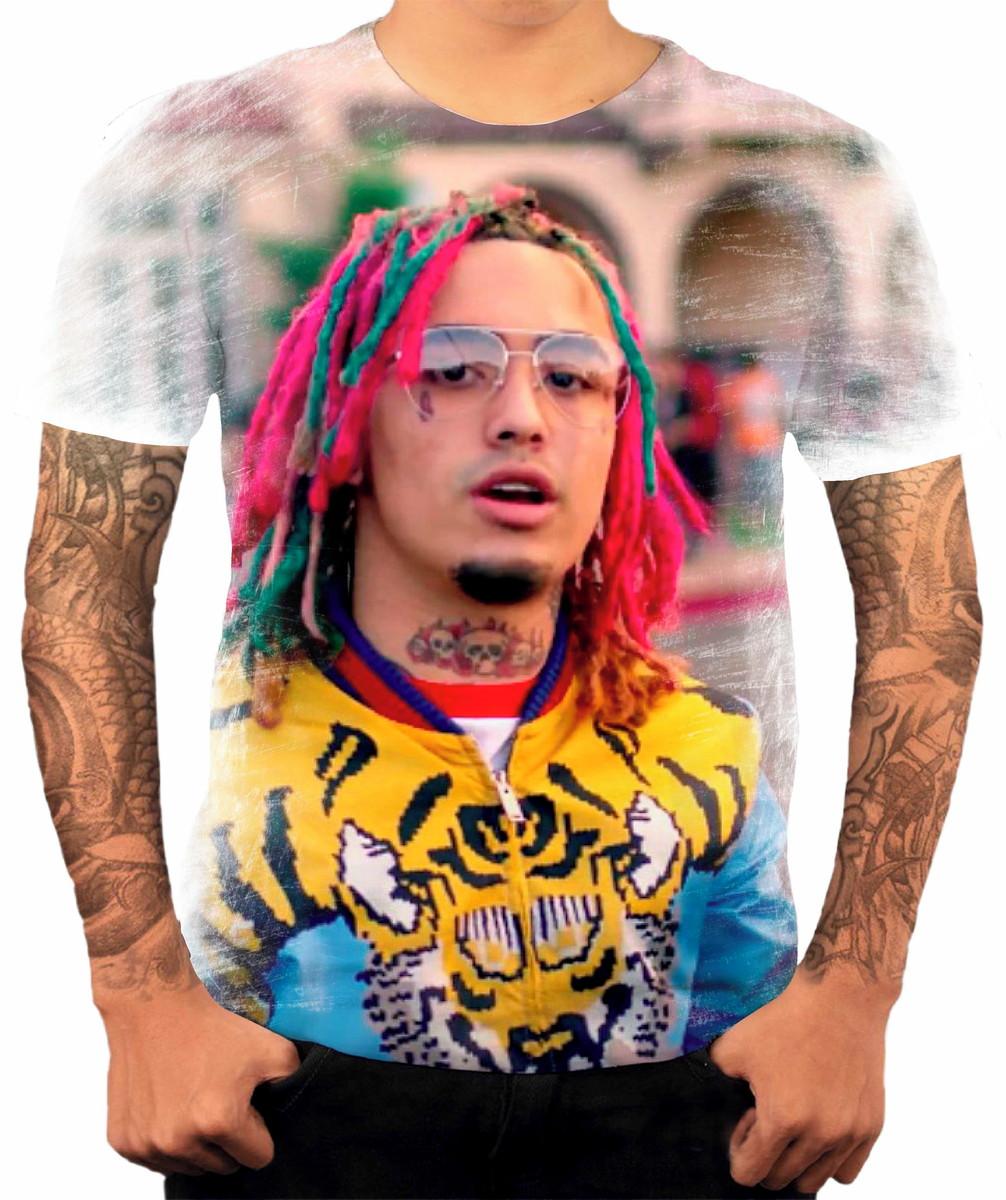 30f114d3f Camisa Camiseta Personalizada Cantor de Rapper Lil Pump no Elo7 ...
