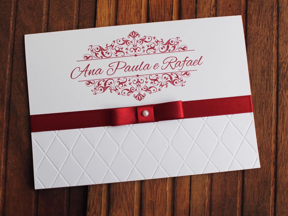 Convite Casamento - Convite 15 anos - Textura relevo marsala no Elo7 ... dd9a54655b