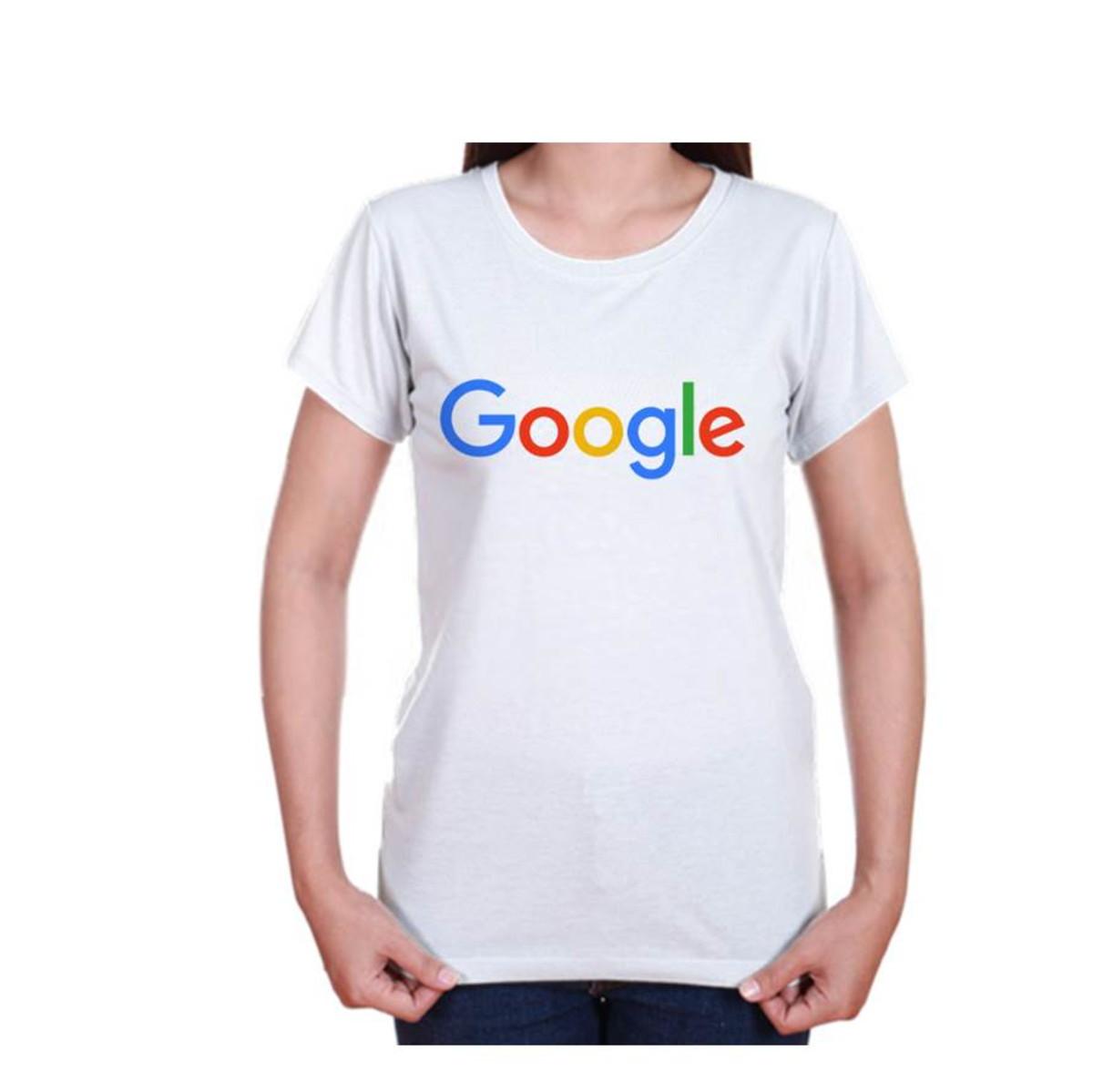 Camiseta Google - Adulto e Infantil no Elo7  538ea6f5715