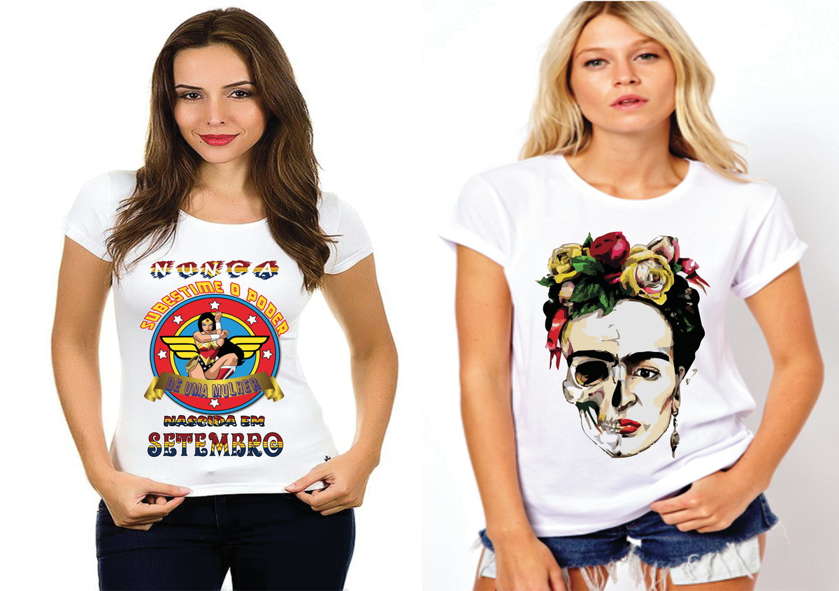 Kit 2 camisetas presente de setembro  400 no Elo7  3e1e709b6b4