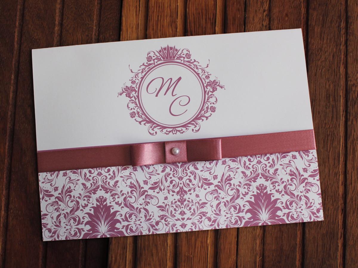 a6d58d235 Convite Casamento rose - Convite 15 anos barato promoção no Elo7 ...