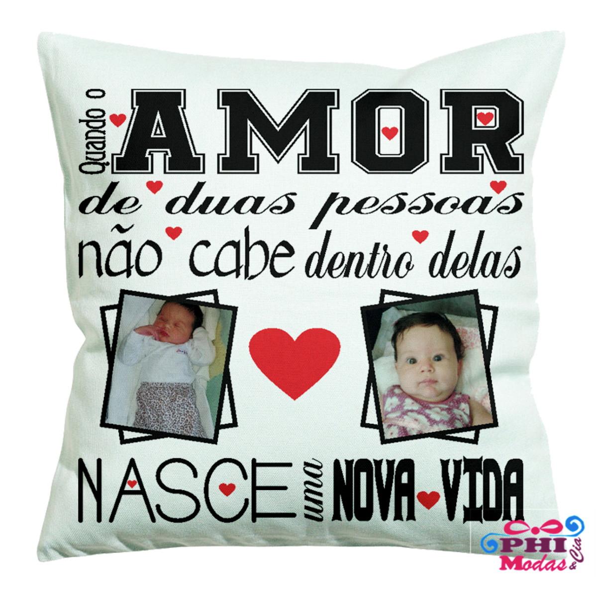 fbcbe86527e640 Presente Aniversário De Namoro Almofada Personalizada