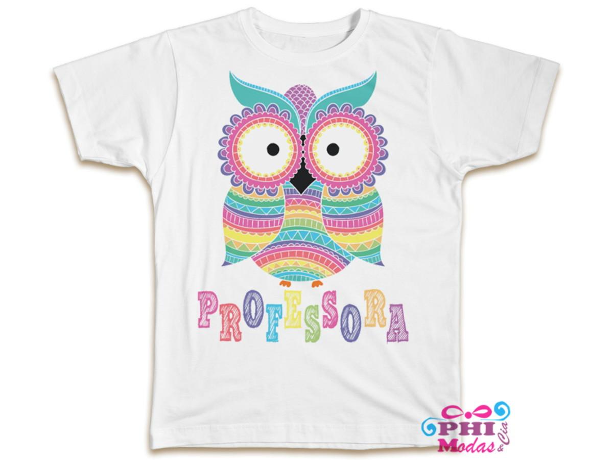 76970be01c Camiseta Feminina Dia dos Professores pedagogia em oferta no Elo7 ...