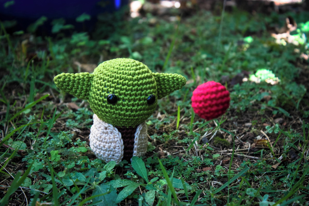 Baby Yoda - Desafio Crochet Land de Janeiro - Crochet Land | 800x1200