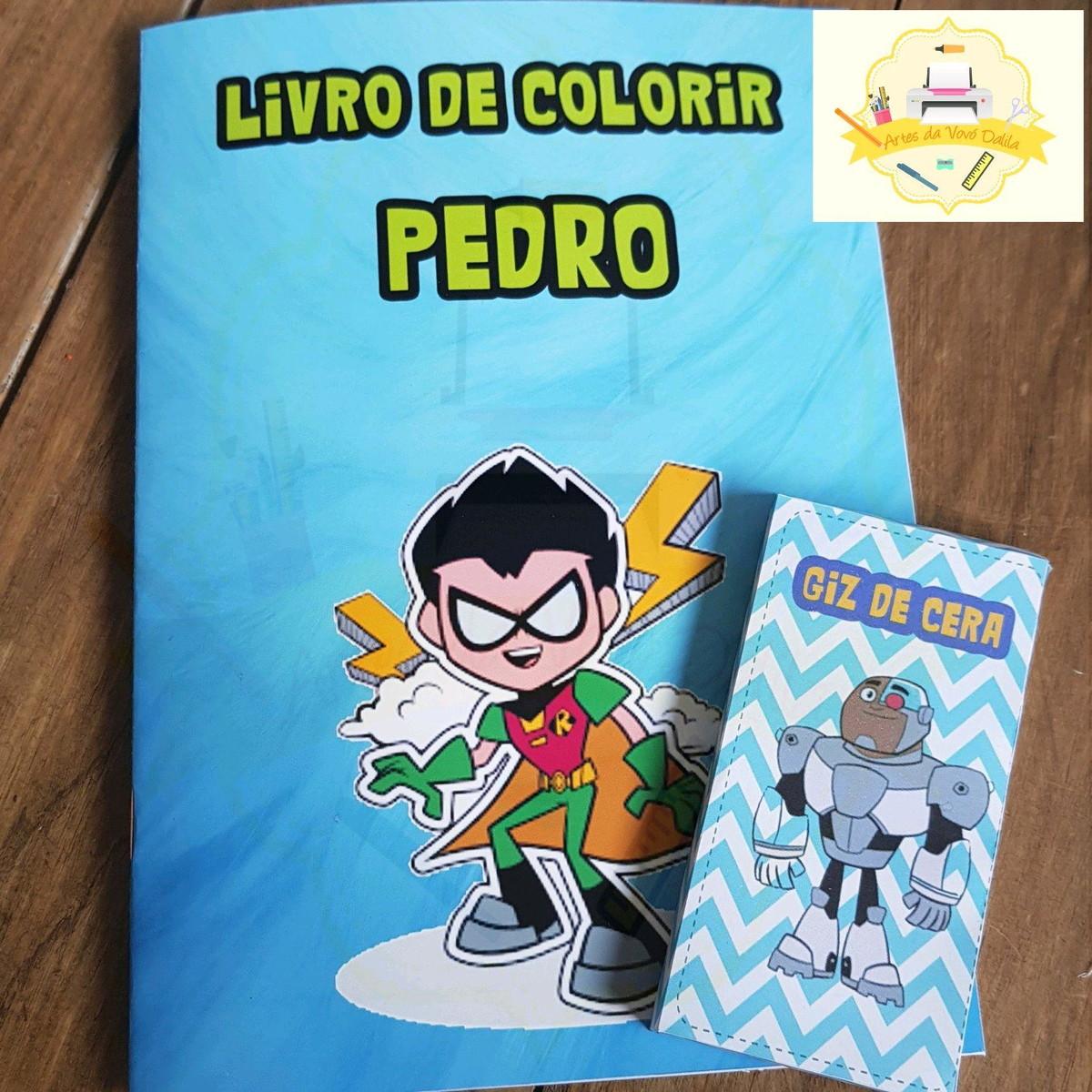 Livro De Colorir Jovens Titas No Elo7 Dalila De Vita D32ce5