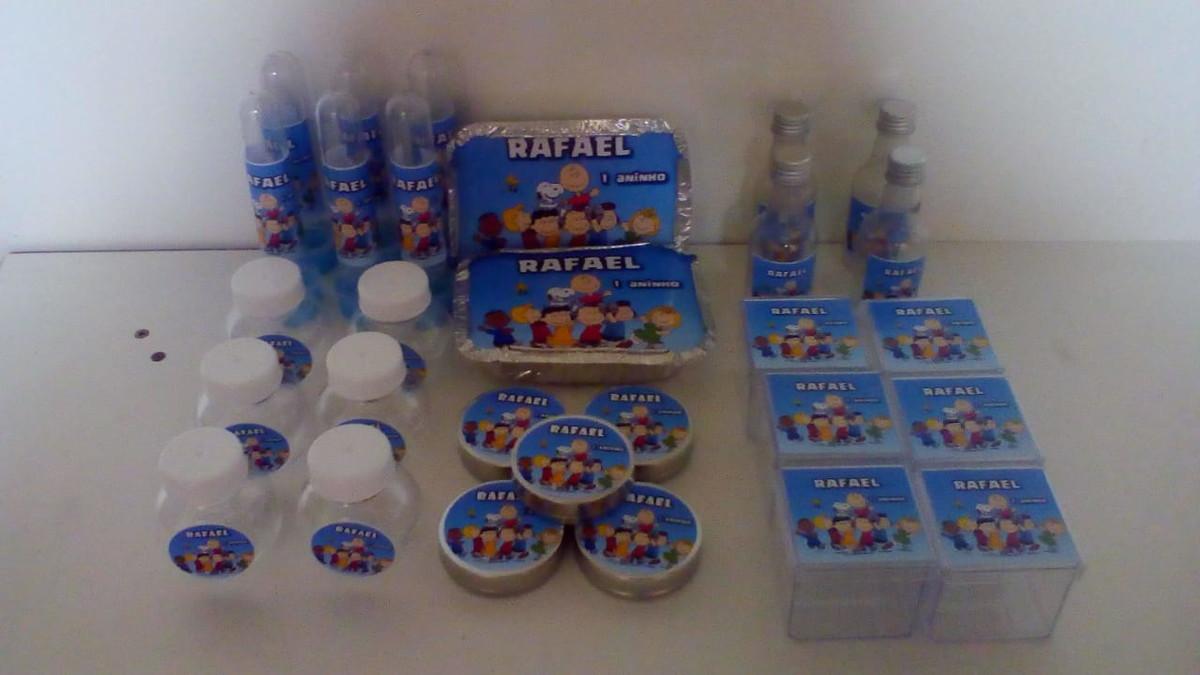 Kit Festa Infantil Snoopy com 60 itens no Elo7  45f85f8ae0ba3
