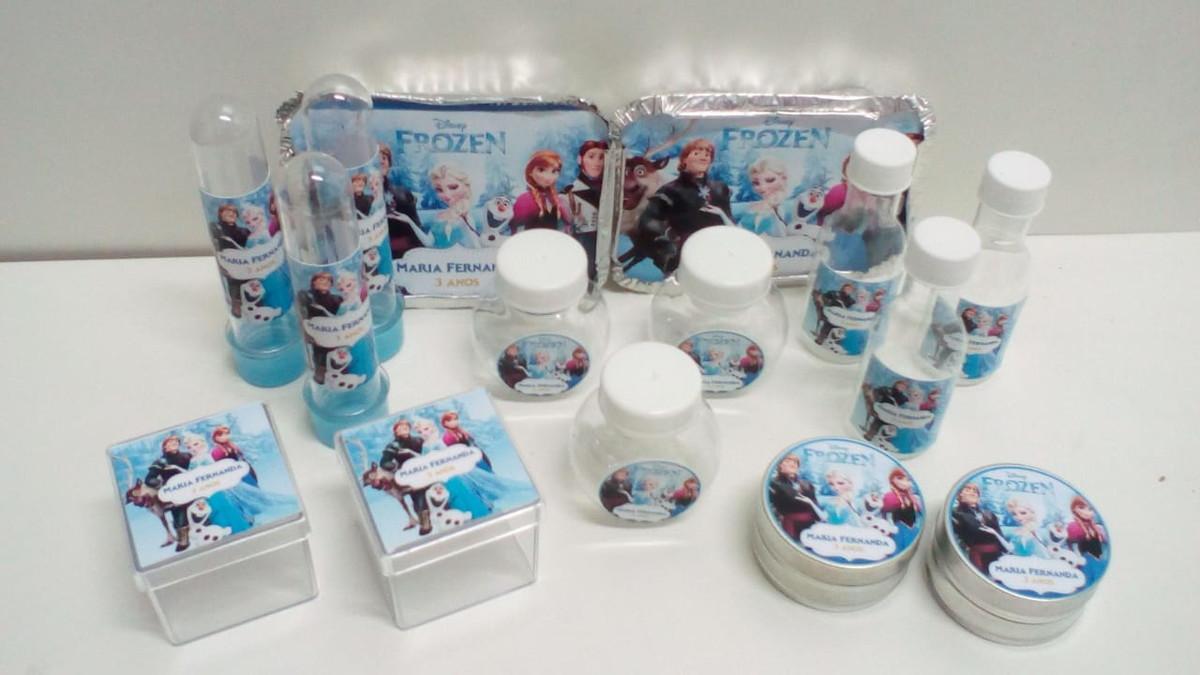 Kit Festa Frozen com 100 itens no Elo7  73d0ffd14ed29
