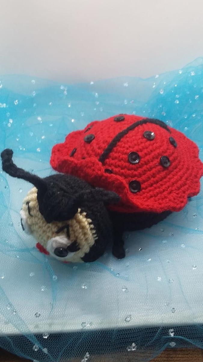Joaninha de croche - Amigurumi - Como Fazer | 1200x675