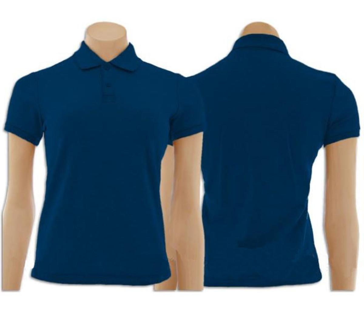 947eece490 Kit com 5 Camisetas Gola Polo Feminino no Elo7