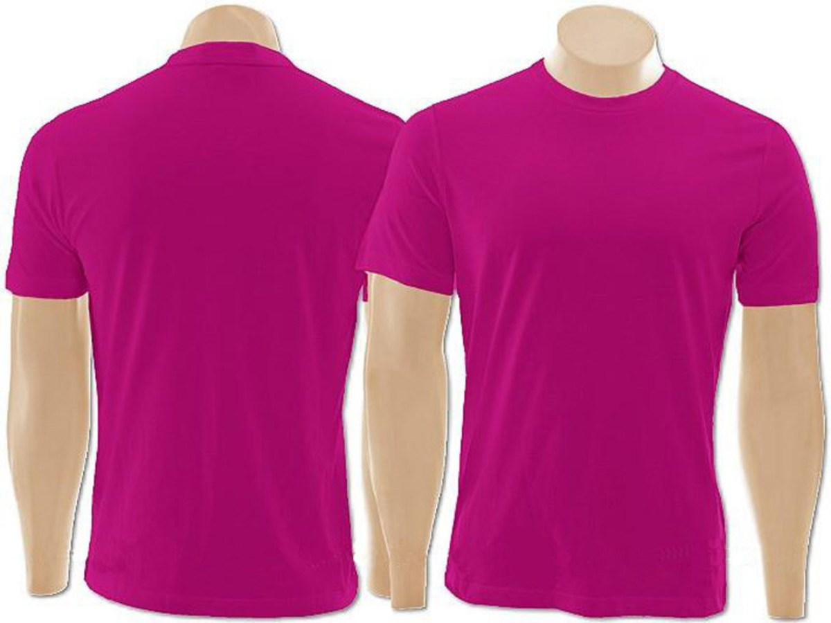 29ba93924b Kit com 10 Camisetas 100% Algodão Básica Lisa Pink no Elo7