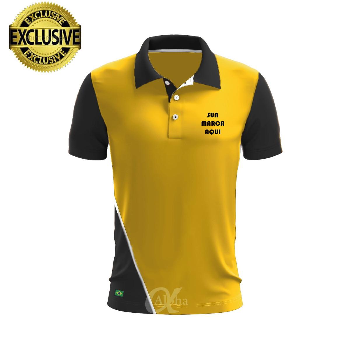 3985ec8e5d Camisa Camiseta Polo Personalizada Diferenciada Kit 4 Peças no Elo7 ...