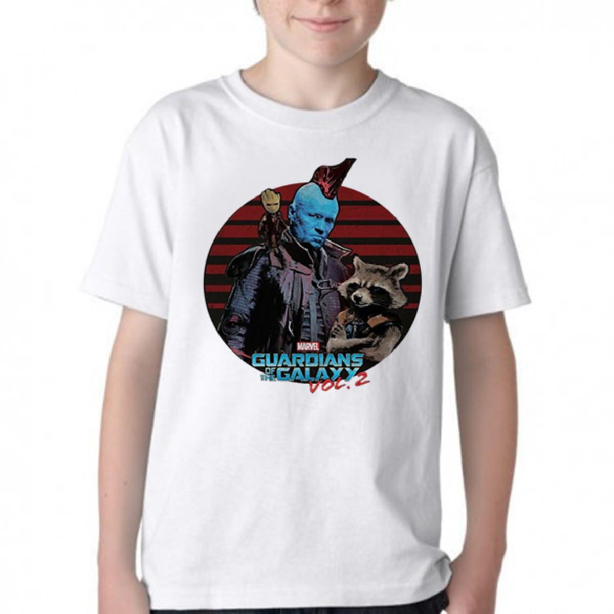 f651ad7457 Camiseta Infantil Blusa Criança Guardiões da Galáxia volume no Elo7 ...