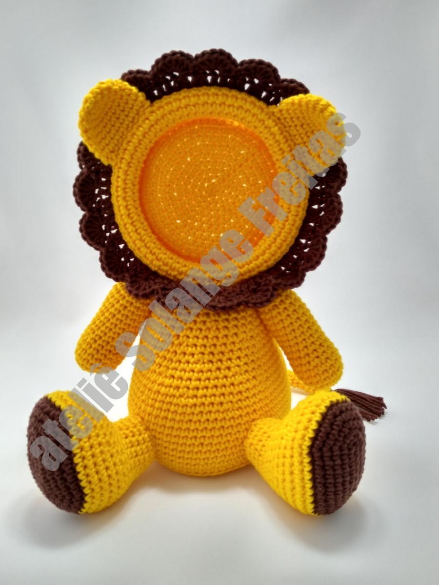 Receita de Amigurumi - Leão Simba no Elo7 | Darth Makers (FCB3DA) | 1200x900