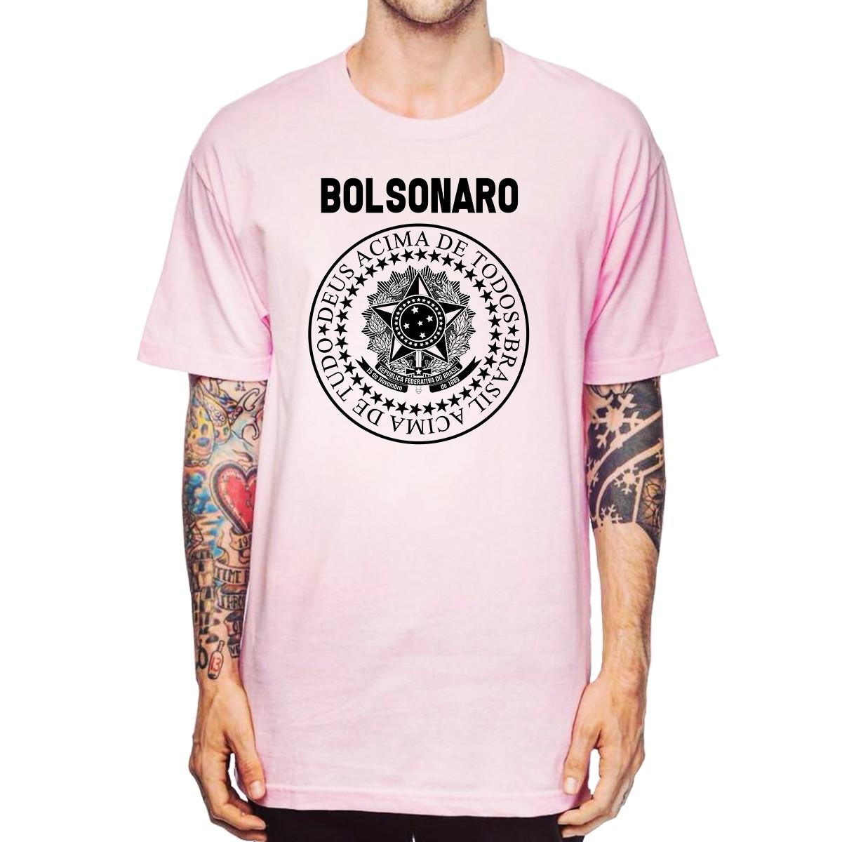 Camisa Jair Bolsonaro Presidente PSL 17 Camiseta BolsoMito no Elo7 ... 9a1d0928a2637