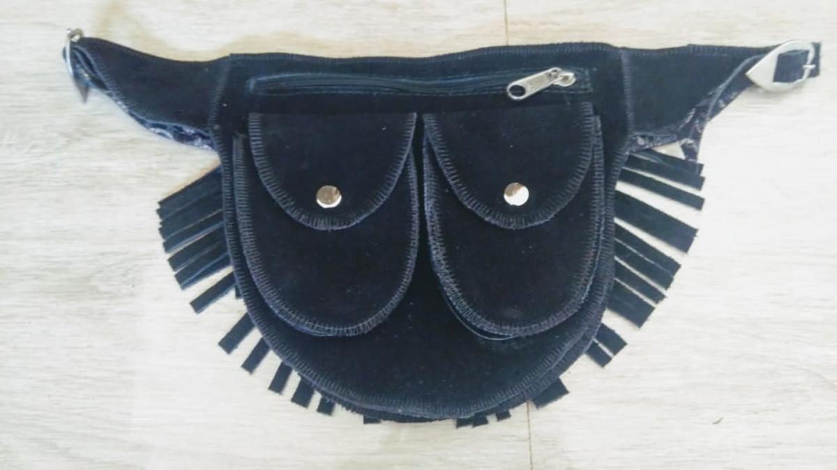 fdd71eb62 Bolsa pochete feminina couro legítimo Oferta no Elo7 | Destaque em ...