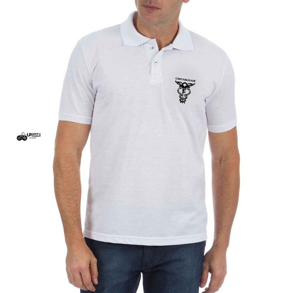 b23b8b78e7 Camisa Polo universitaria Contabilidade no Elo7