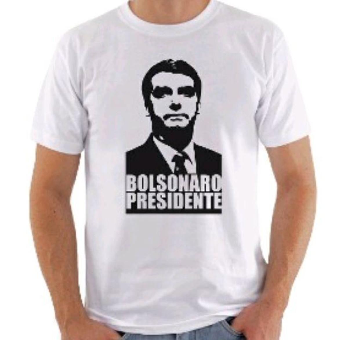 a30ecb830ba83 Camiseta Bolsonaro Presidente 17 no Elo7