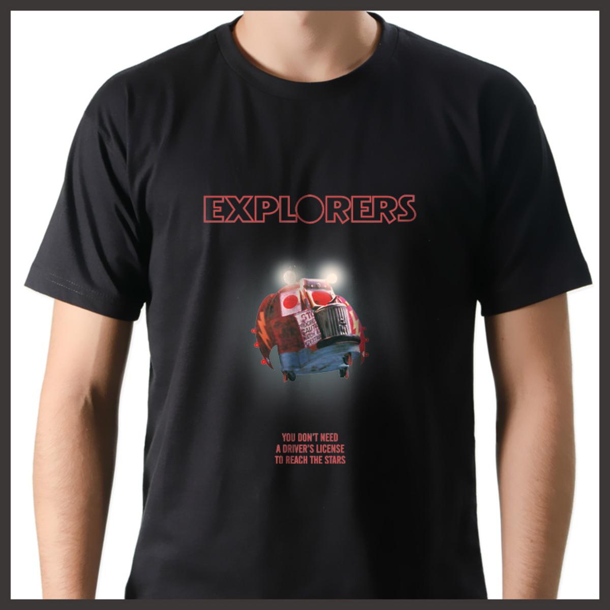 Camiseta Nerd Geek Filme Viagem ao Mundo dos Sonhos Anos 80 no Elo7 ... 4c3390ab1d5