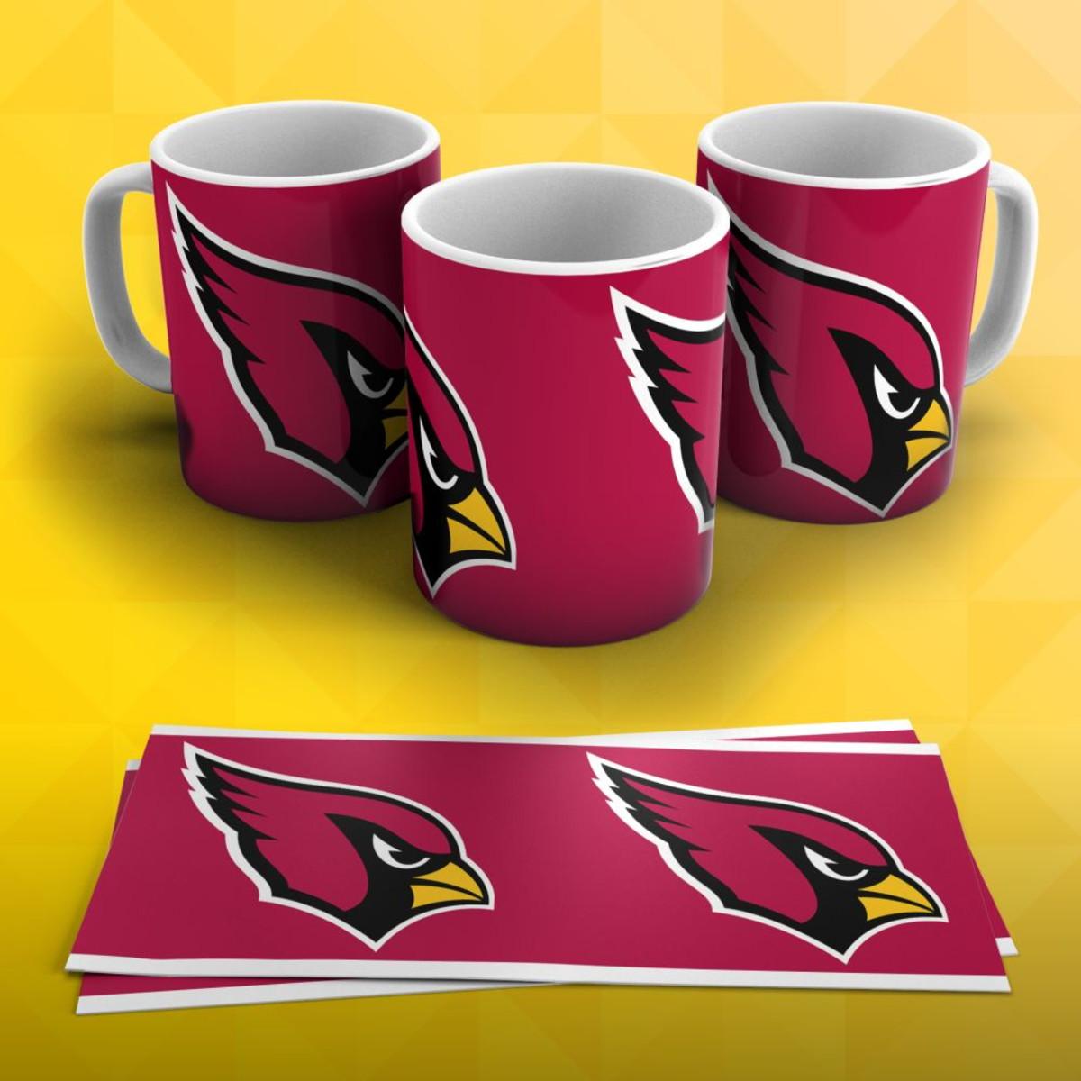 967fdef3cd Caneca Futebol Americano NFL Arizona Cardinals no Elo7