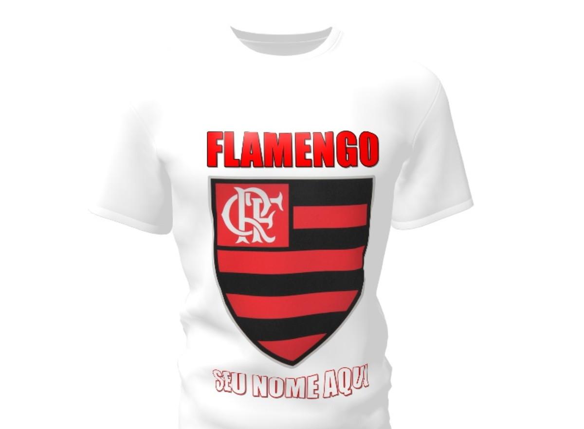 Camiseta Camisa Blusa Personalizada Futebol Times Cariocas no Elo7 ... b1b3fcfe89da7