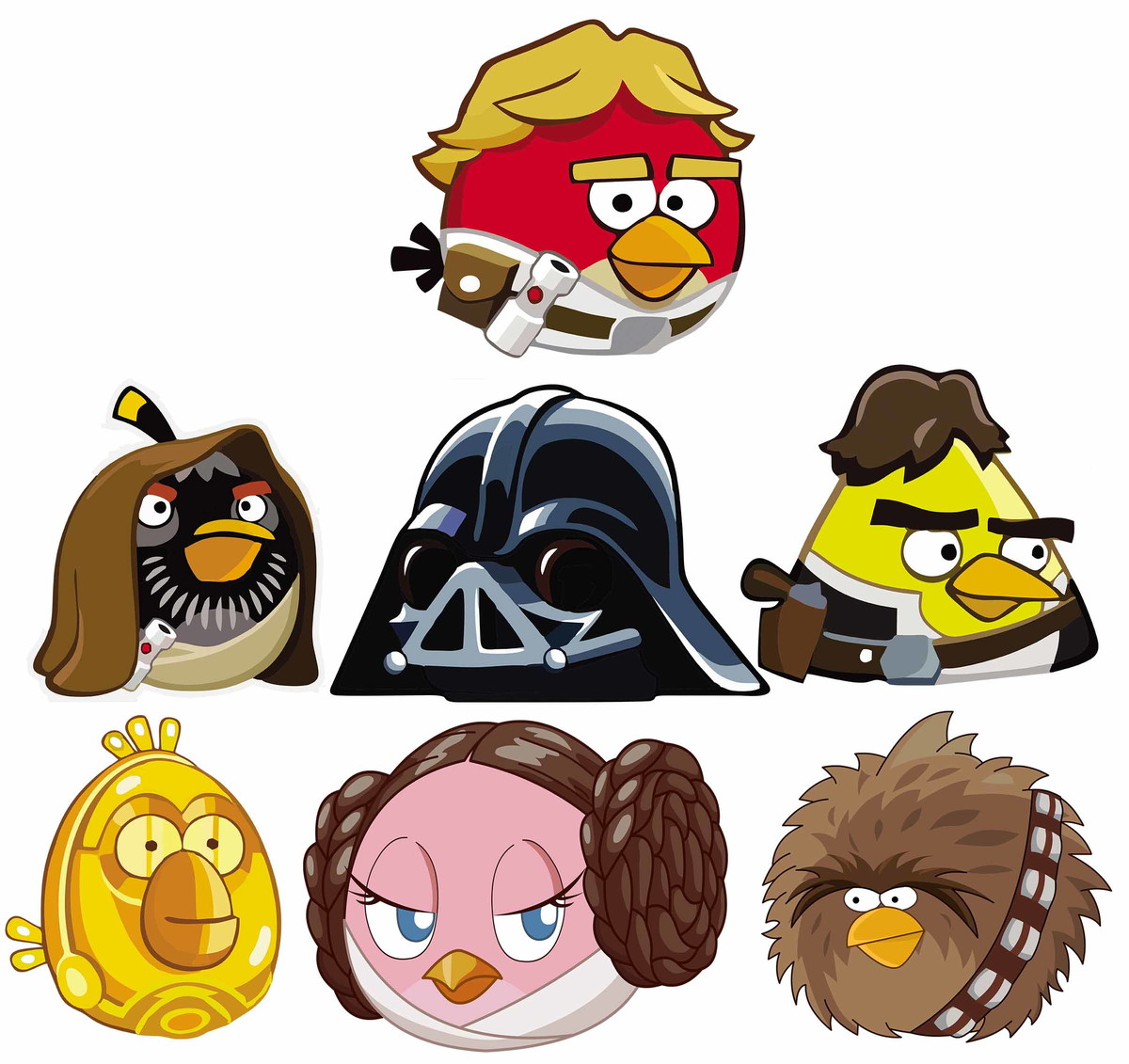 Angry Birds Star Wars 7 Colorier Les Enfants Marnfozinecom