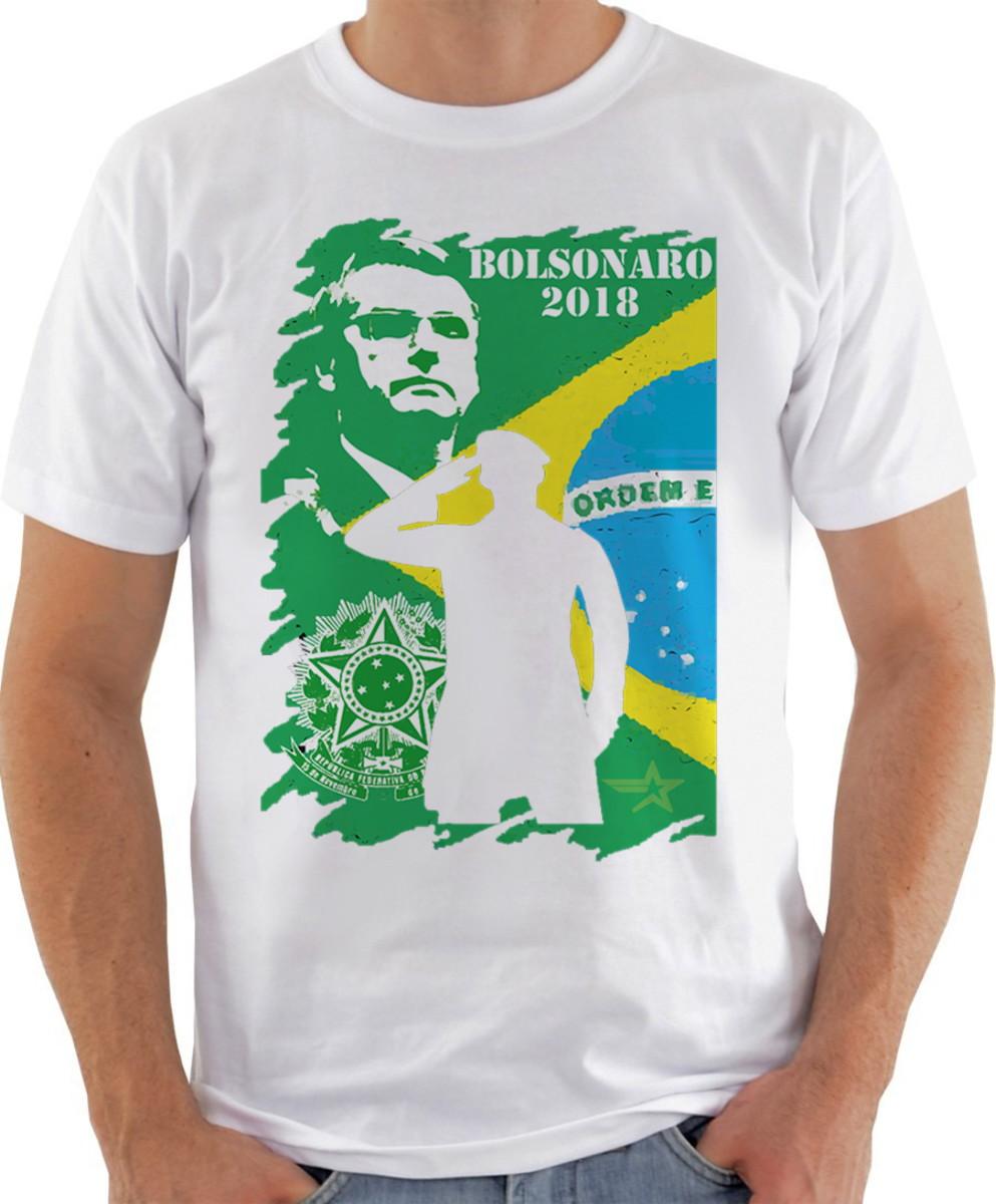 f7ce3b4f4 Camiseta Camisa bolsonaro mito patriota brasil presidente 20 no Elo7 ...