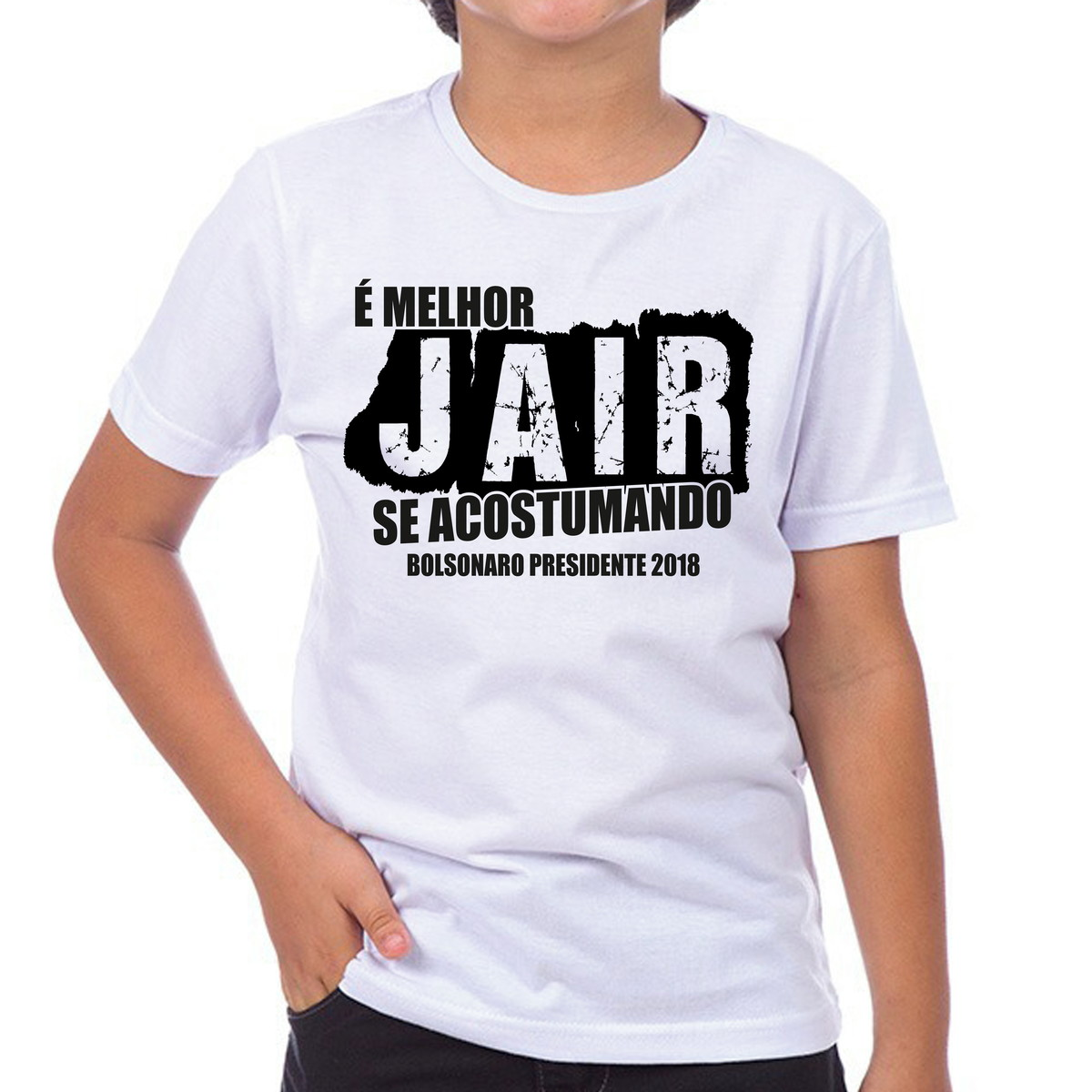 Camiseta Camisa Bolsonaro Melhor Jair Se Acostumando 2018 No Elo7