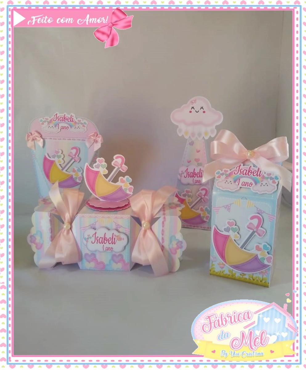268f271f2ee75a Kit caixas Chuva de Amor