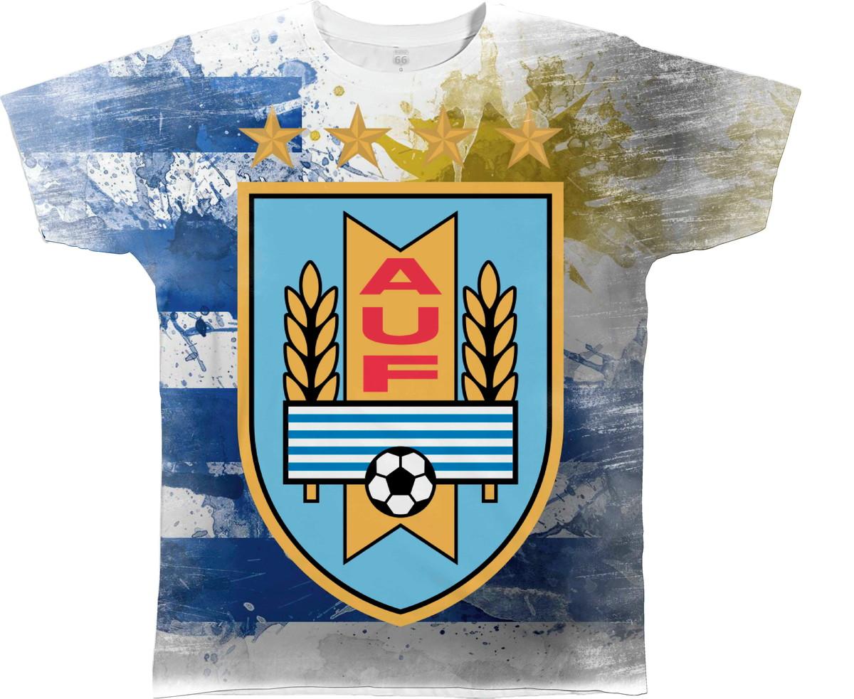 dd6c36e47c Camisa Blusa Personaliza Bandeira Uruguai Frente e Costas Hd no Elo7 ...
