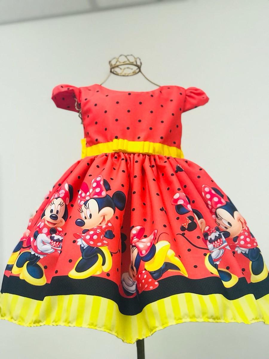 Vestido de luxo minnie
