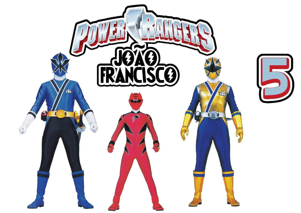 Topo De Bolo Power Rangers No Elo7 Milena Arteira D47025