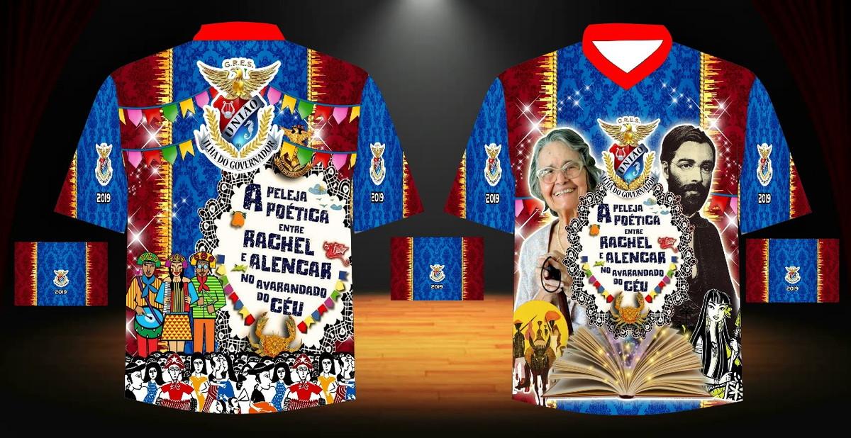 528ef7e25 Camisa Personalizada União da Ilha do Governador Enredo 2019 no Elo7 ...