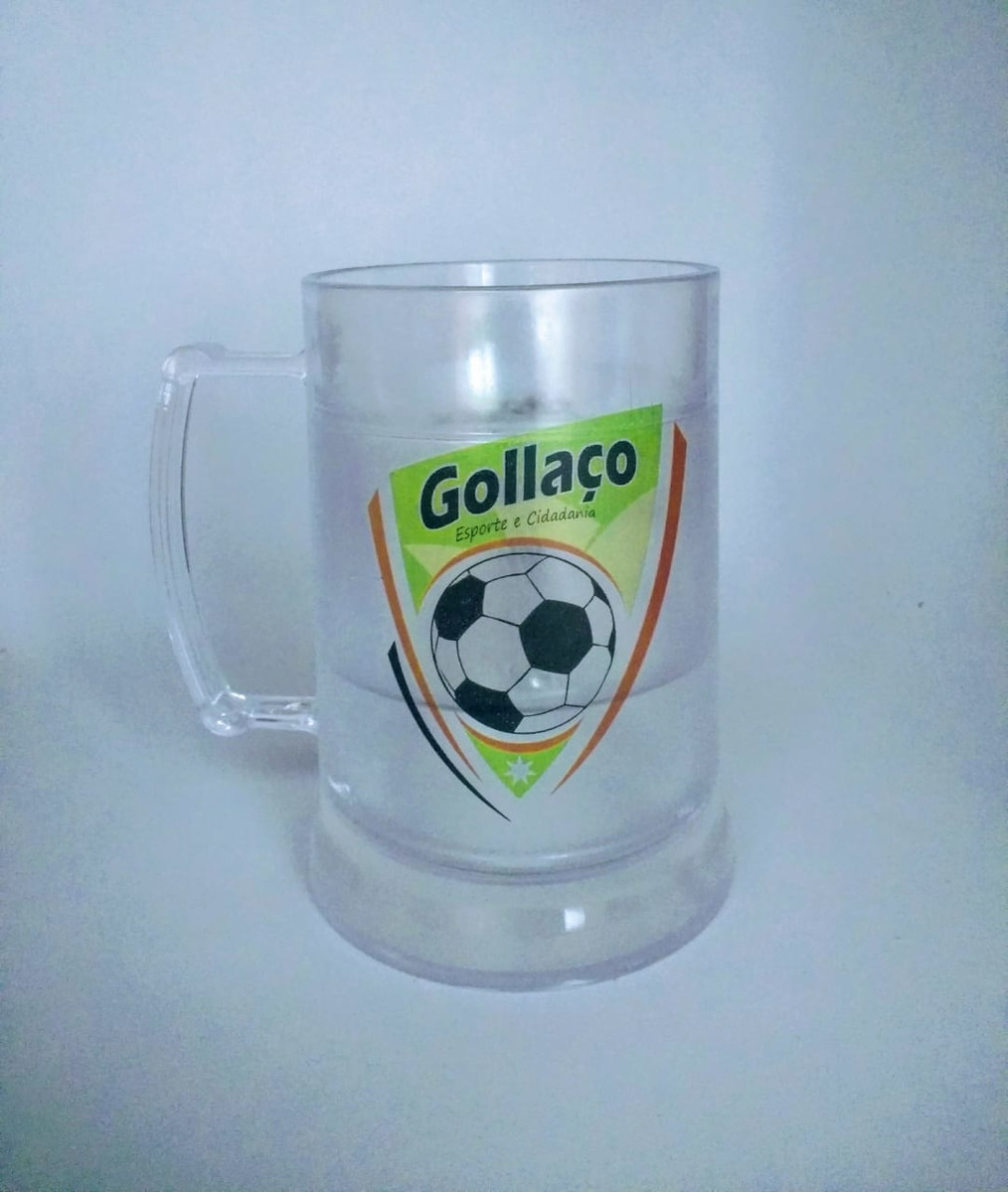 43de7254a Caneca de gel congelante 300 ml Arte colorida - 50 un no Elo7 ...