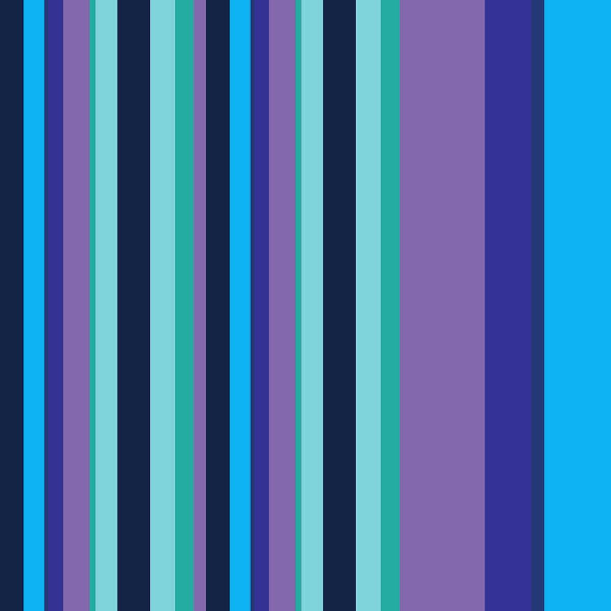 6e2cc0d1f0c88 Papel de Parede Listrado em Tons de Azul, Fundo Roxo e Verde no Elo7 ...