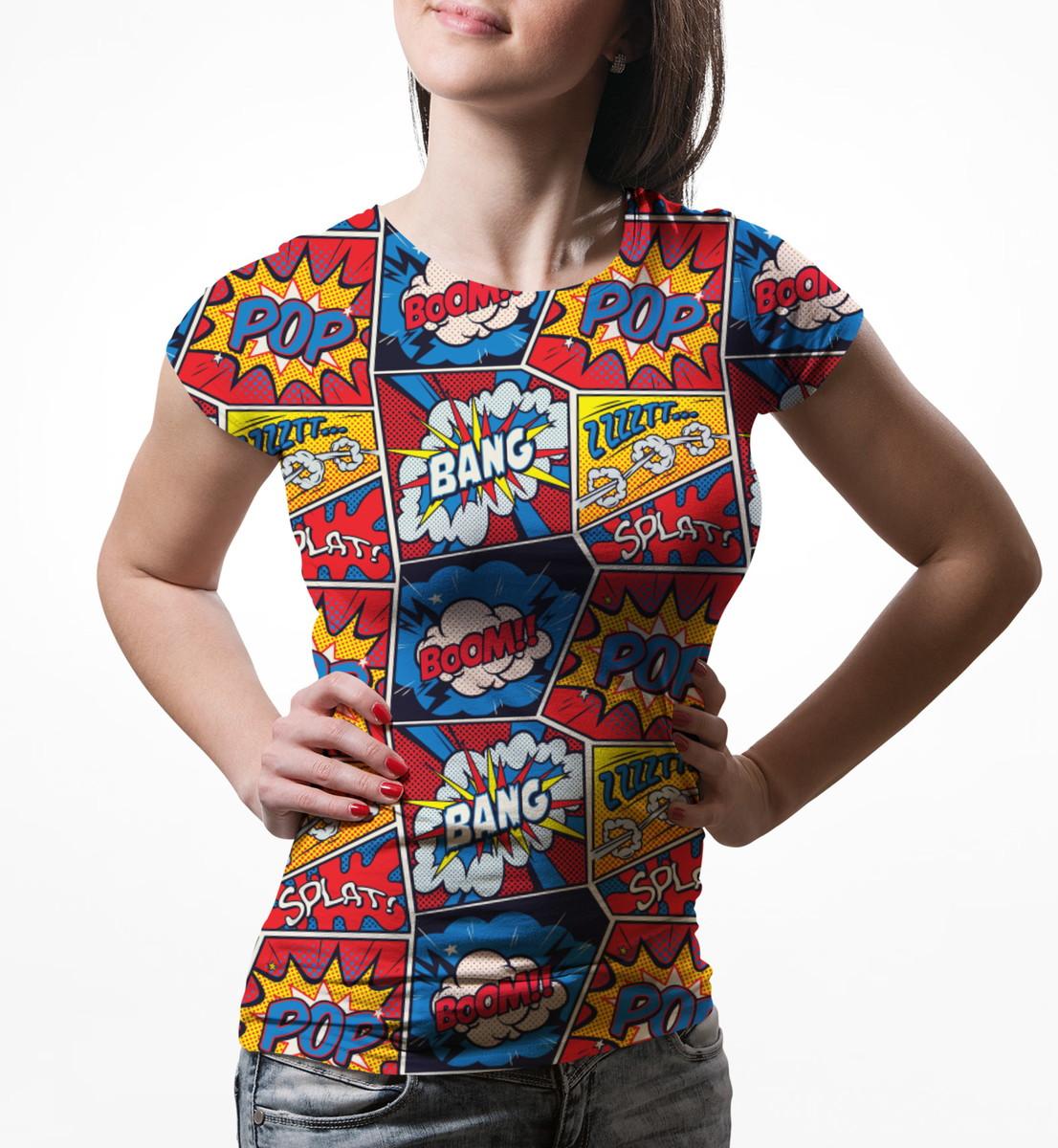 ae8cbc8093 Camiseta Baby Look Feminina Retro Pop Arte Estampa Total no Elo7 ...