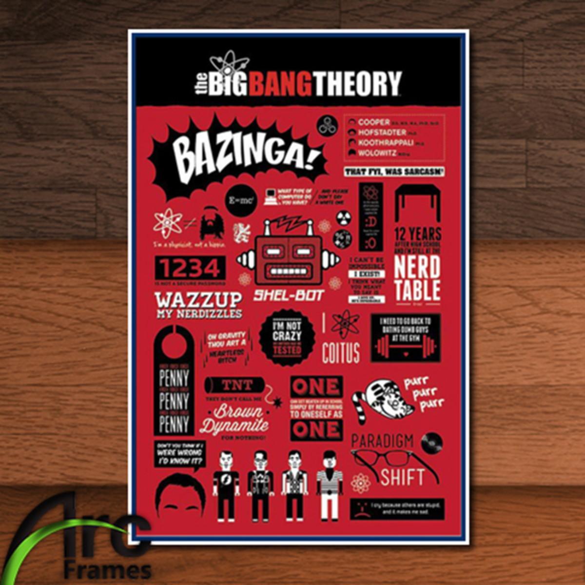 Placa Decorativa Mdf The Big Bang Theory Frases No Elo7 Arc